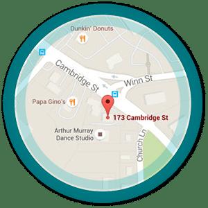 Burlington Orthodontics Map on Google