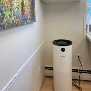Burlington Orthodontics Treatment Room with Surgically Purified Air